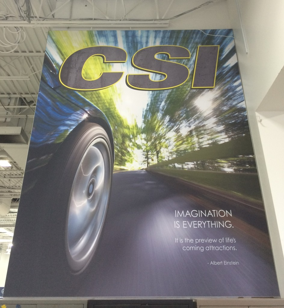 Silicone Edge Graphics (SEG) and frame produced and installed by CSI