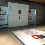 Floor Graphic and elevator wraps for the National Committee For Quality Assurance (NCQA)